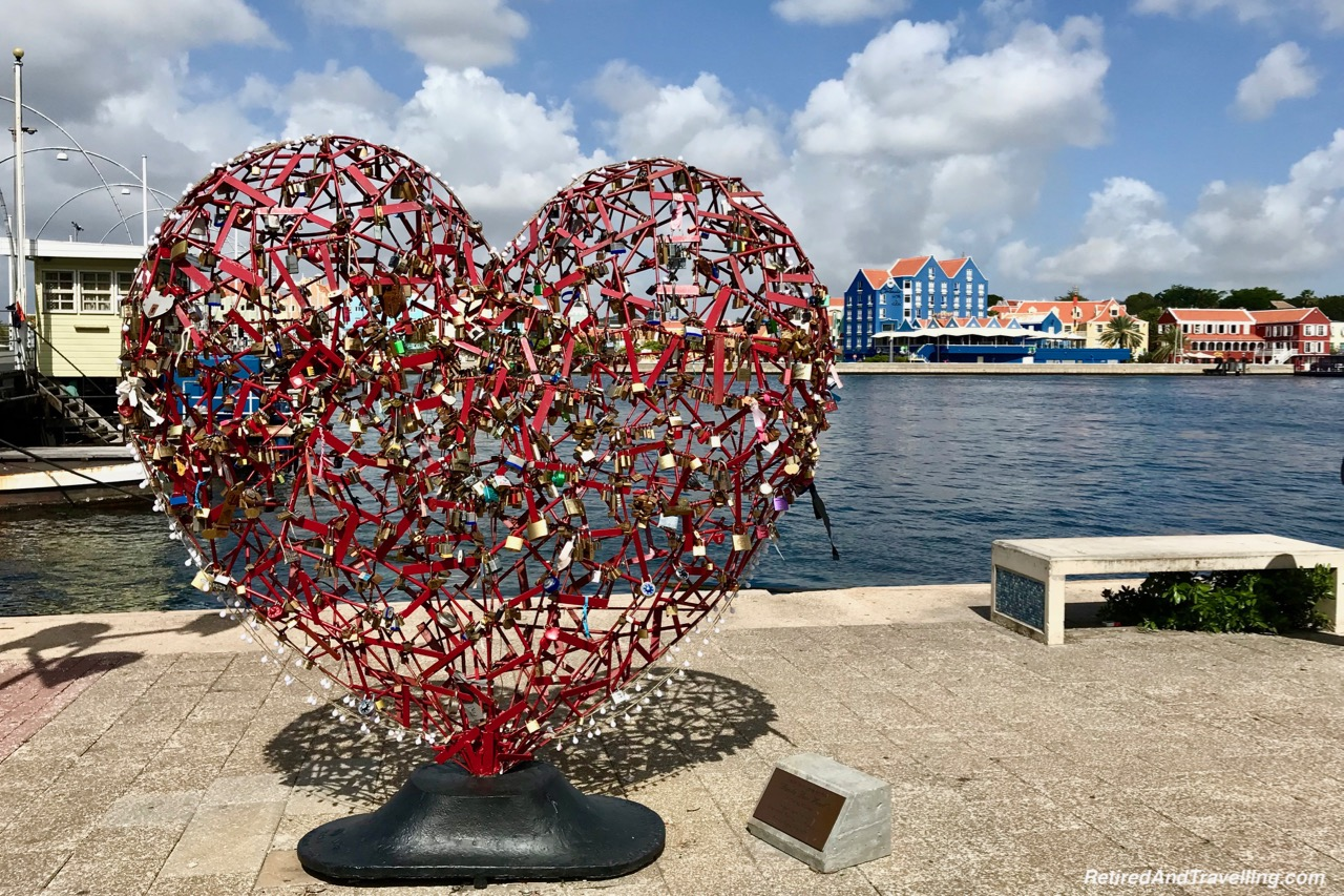 Curacao Harbour Punda Love Heart by Carlos Blaaker - Cruise To The Southern Caribbean.jpg