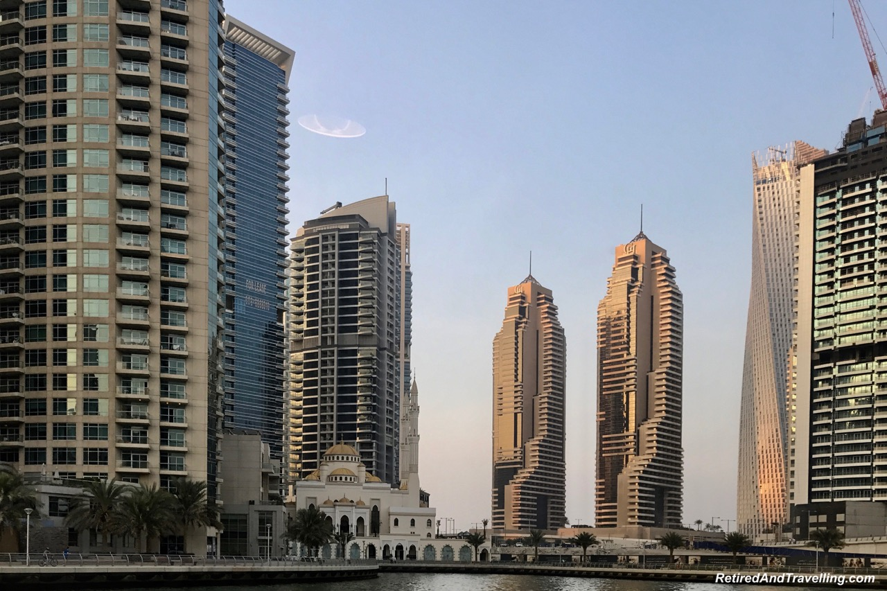 Sunset Cruise Buildings Dubai Marina - Dubai For New Years.jpg
