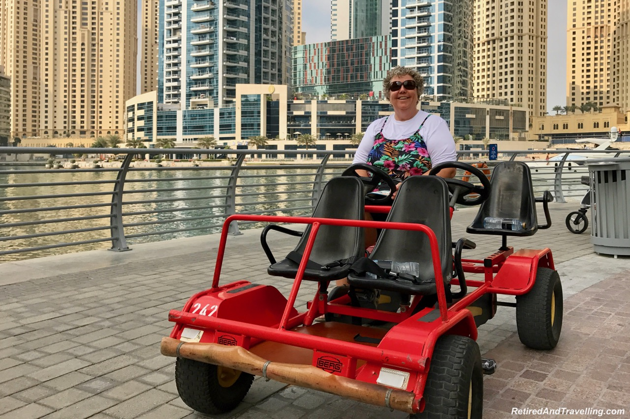 Pedal Car Dubai Marina - Dubai For New Years.jpg