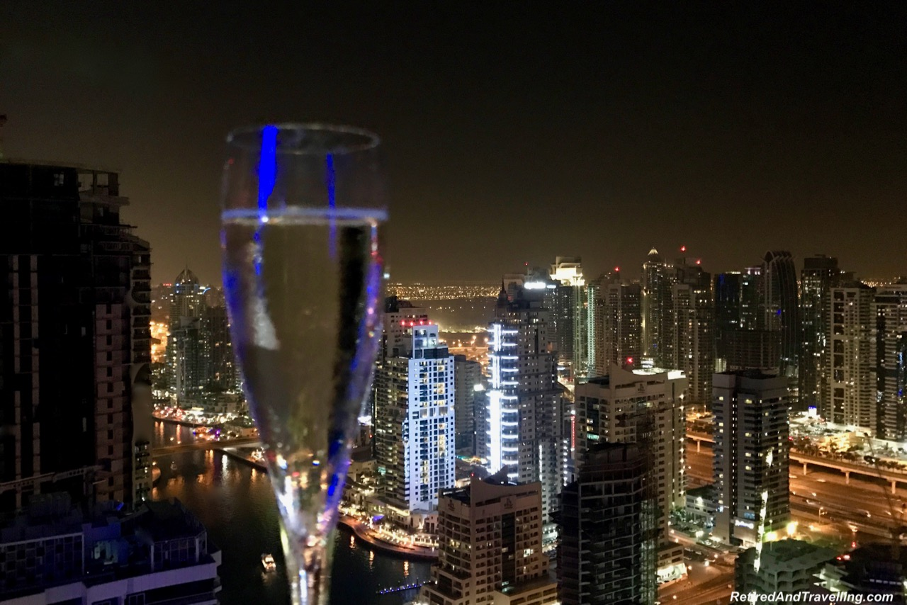 Champagne Intercontinental Dubai Marina - Dubai For New Years.jpg