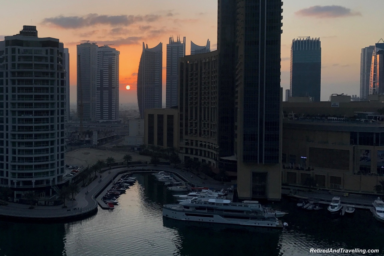Sunrise Views From Intercontinental Dubai Marina - Dubai For New Years.jpg