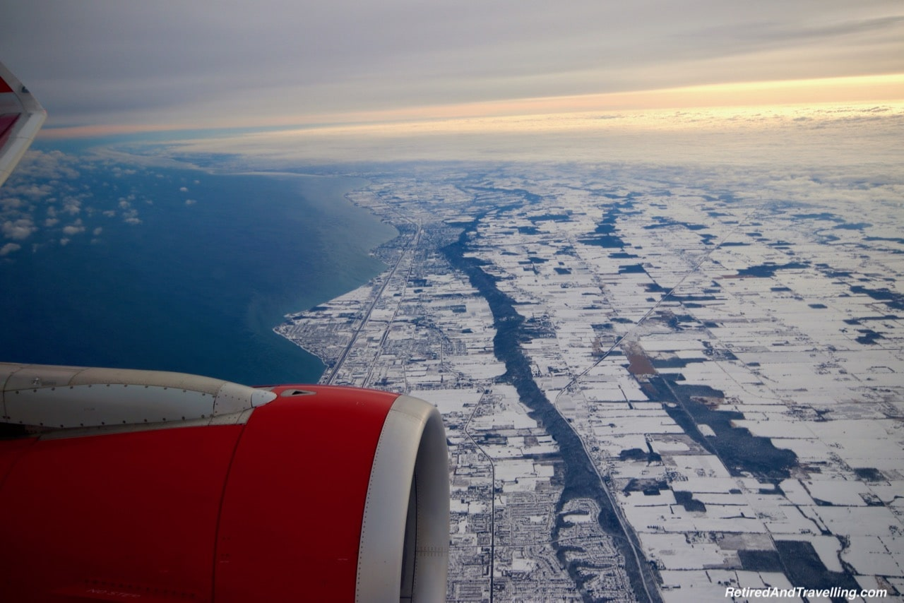 Leaving Snowy Toronto - Cruise To The Southern Caribbean.jpg