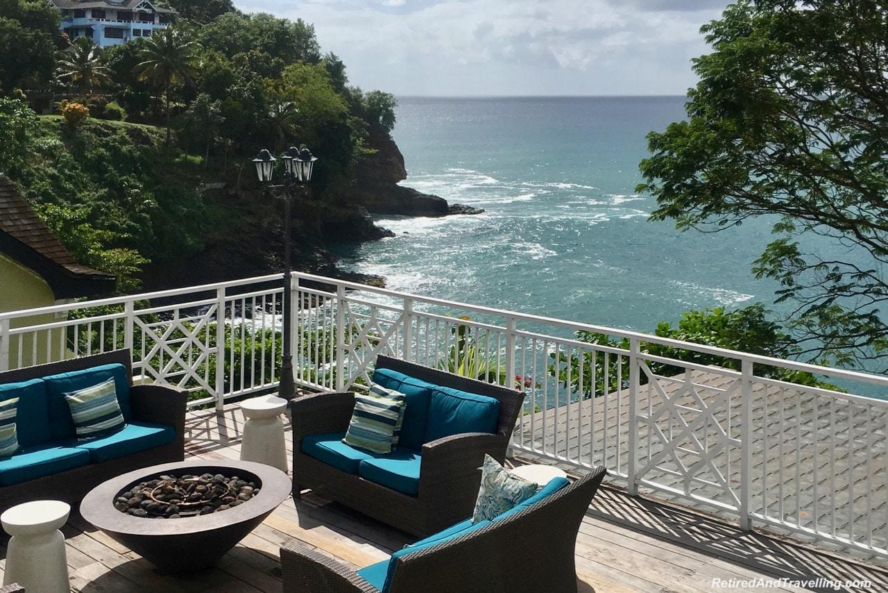 Sandals Regency La Toc Pool Fire Pit - A Week In St. Lucia.jpg