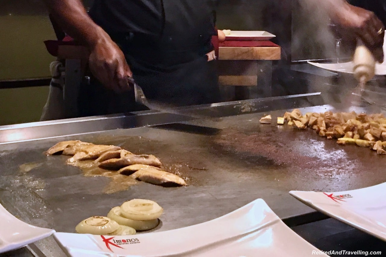 Sandals Regency La Toc Japanese Restaurant Kimonos - A Week In St. Lucia.jpg
