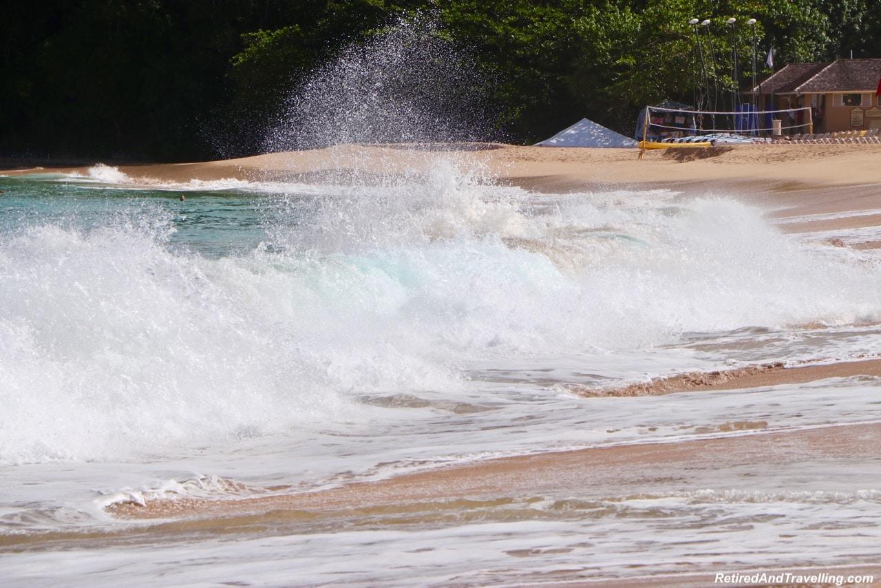 Sandals Regency La Toc Beach Waves - A Week In St. Lucia.jpg