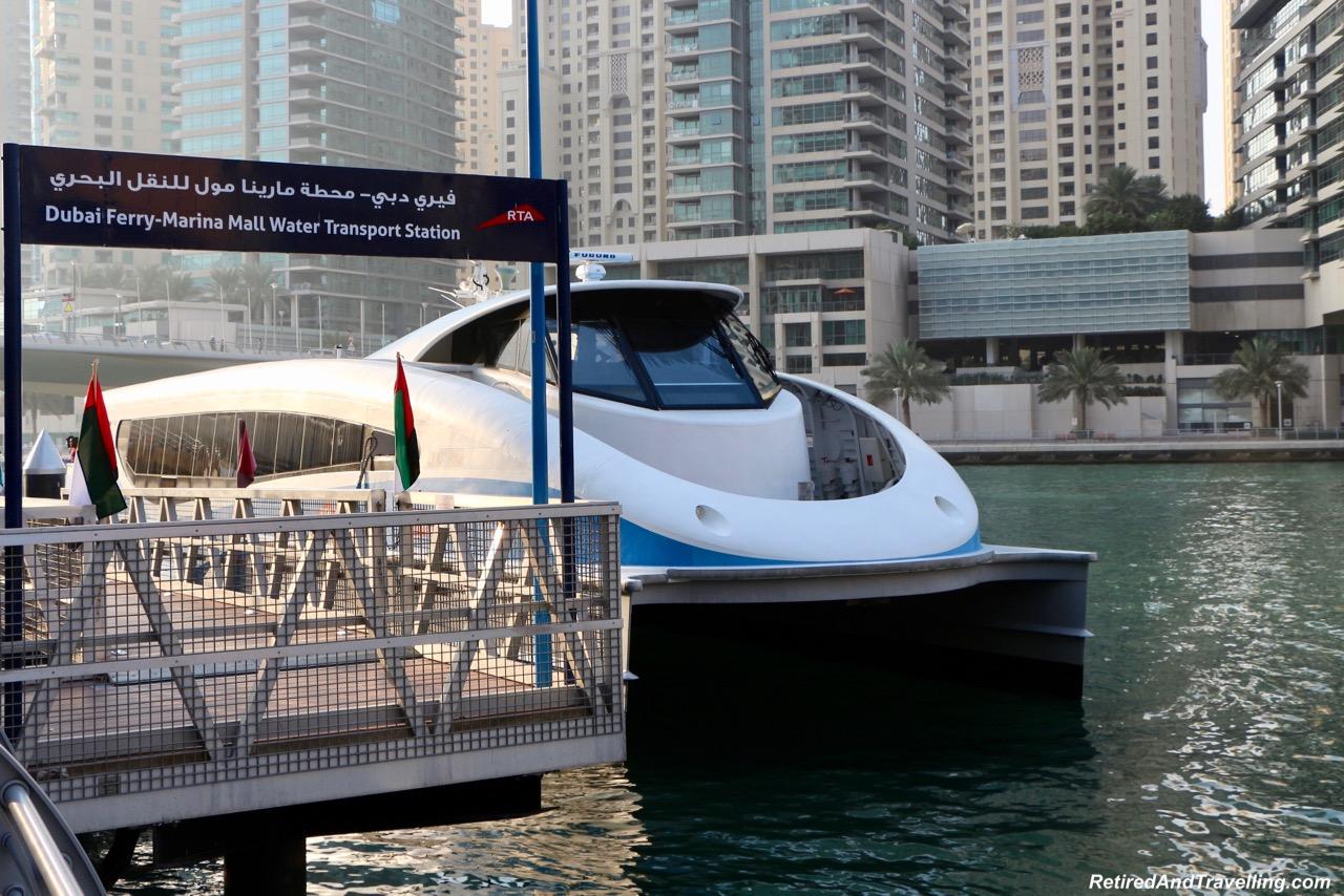 Marina Ferry ntercontinental Dubai Marina - Dubai For New Years.jpg