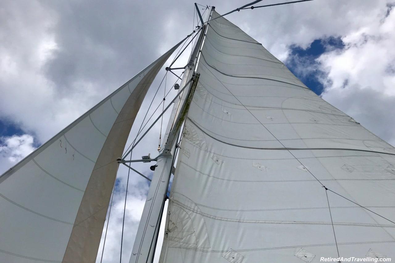 Catamaran Sailing Martinique Diamond Rock - Cruising With Windstar In The Caribbean.jpg