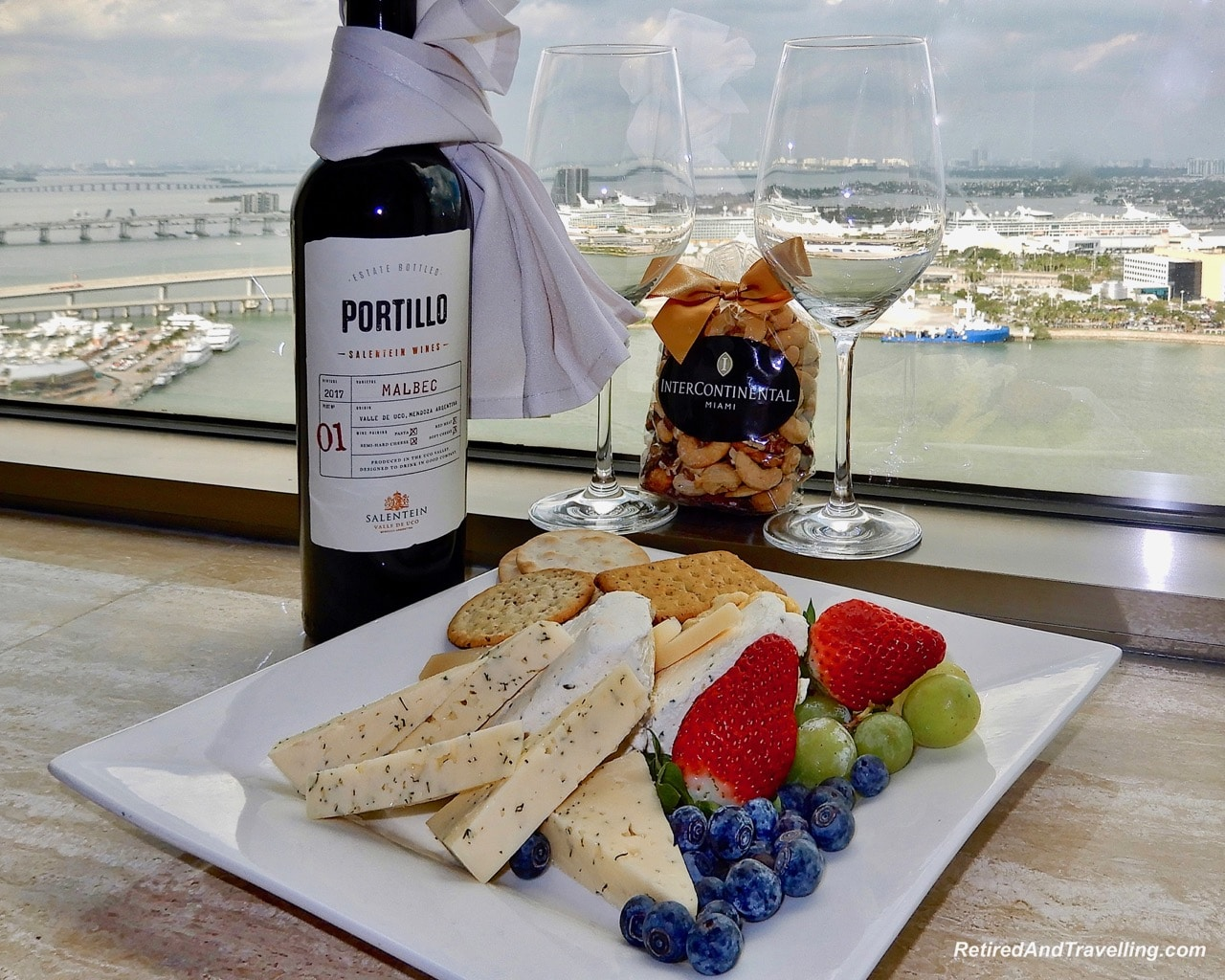 Intercontinental Miami Concierge Club Welcome Treat - Cruising With Windstar In The Caribbean.jpg