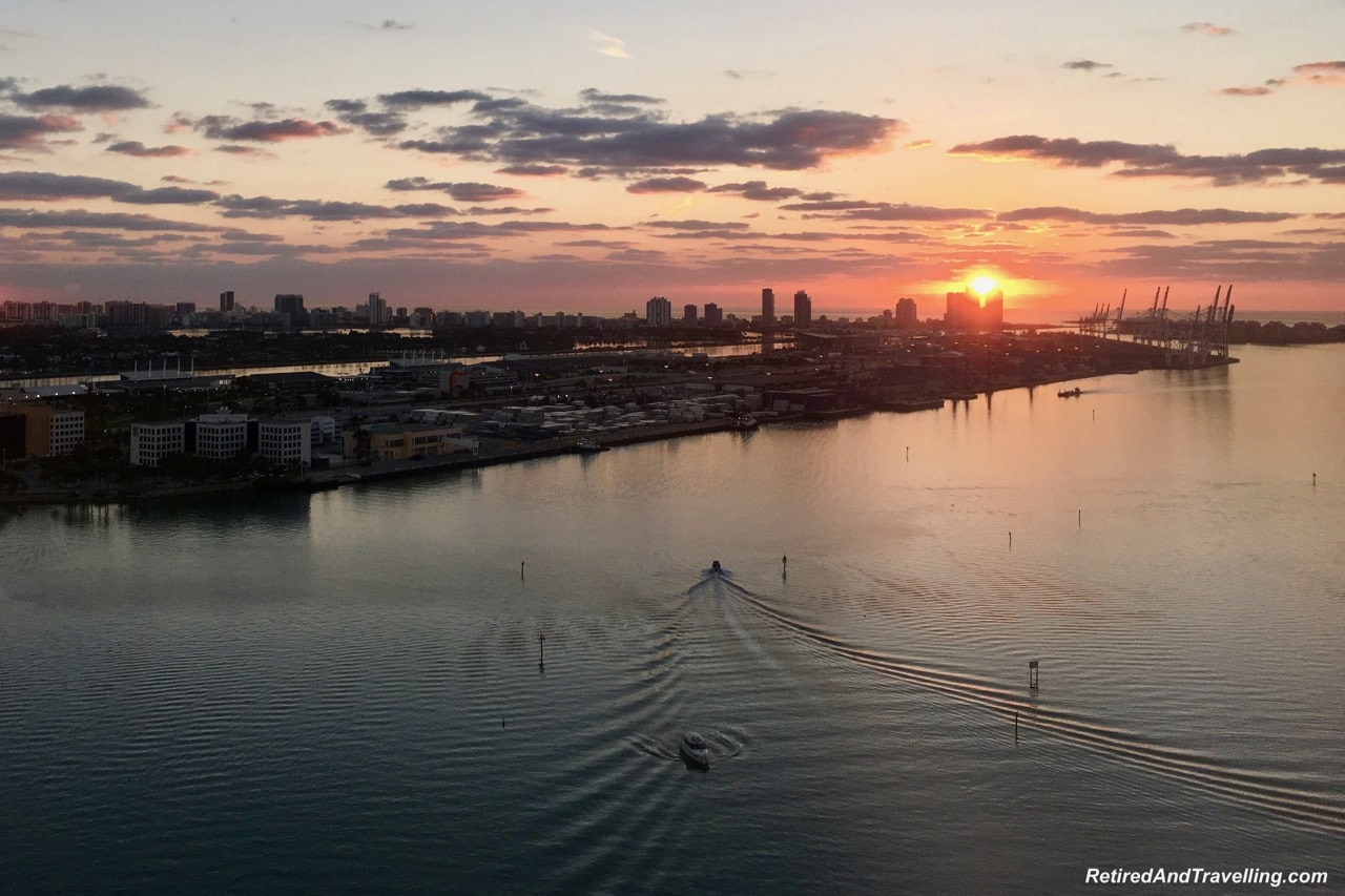 Intercontinental Miami View Sunrise - Cruising With Windstar In The Caribbean.jpg