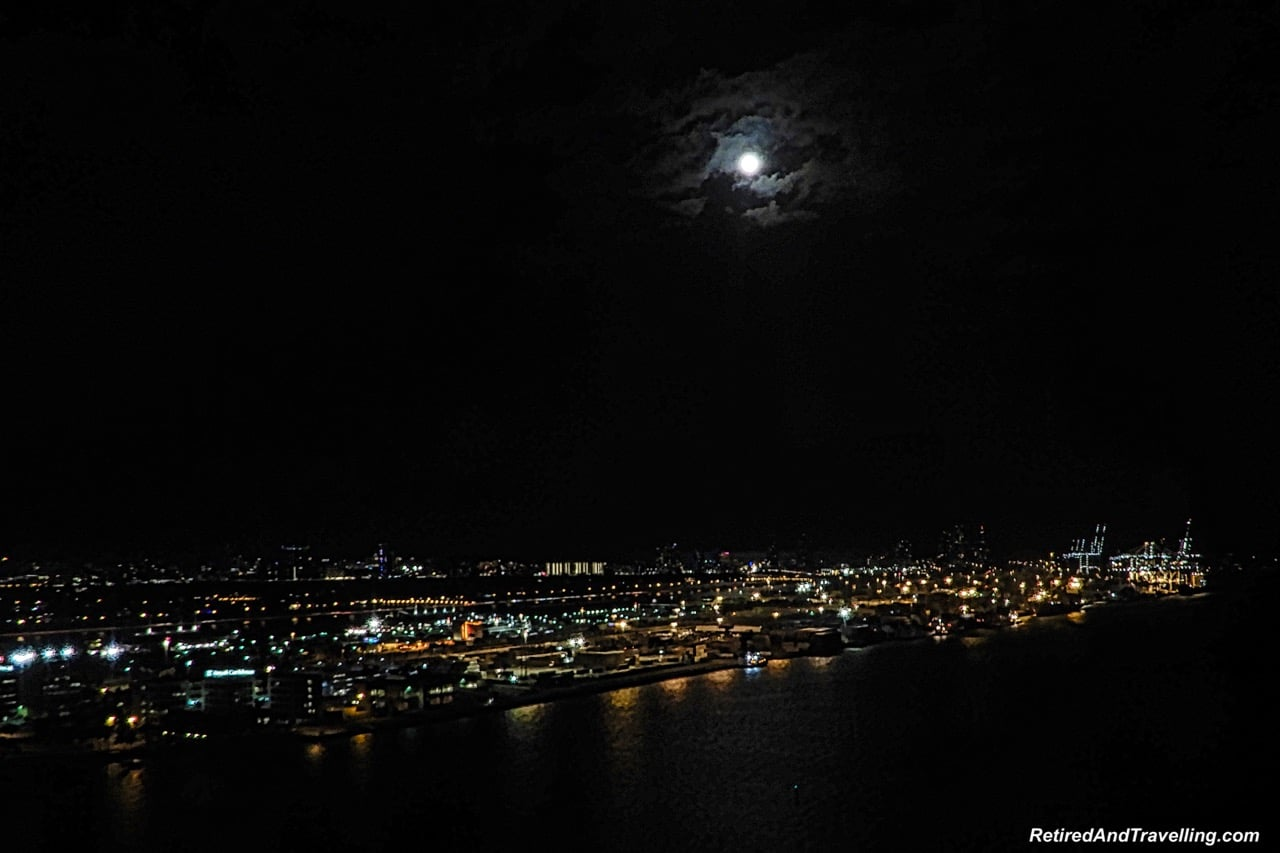 Intercontinental Miami View Moon Rise - Cruising With Windstar In The Caribbean.jpg