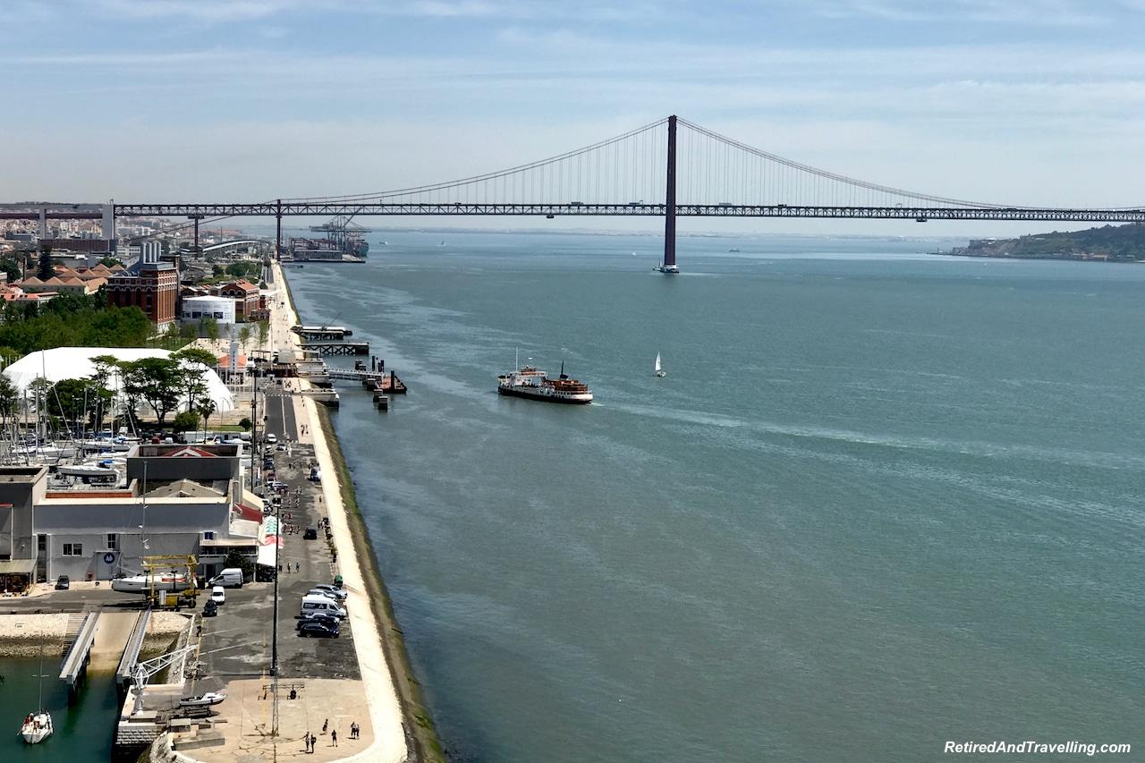 Belem April 25 Bridge with Cristo Rei Lisbon - Reasons To Visit Portugal.jpg