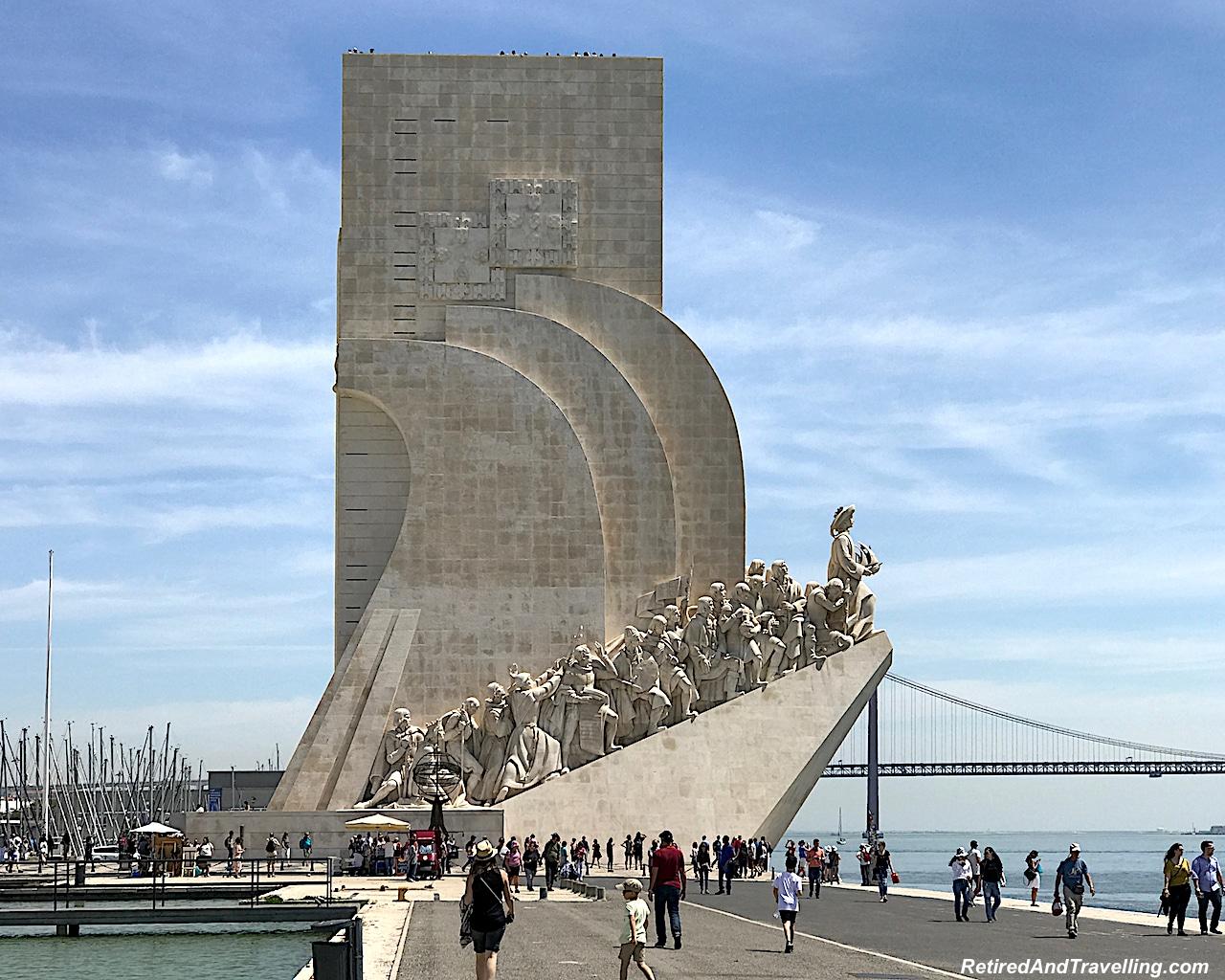 Belem Padrao dos Descobrimentos Lisbon - Reasons To Visit Portugal.jpg