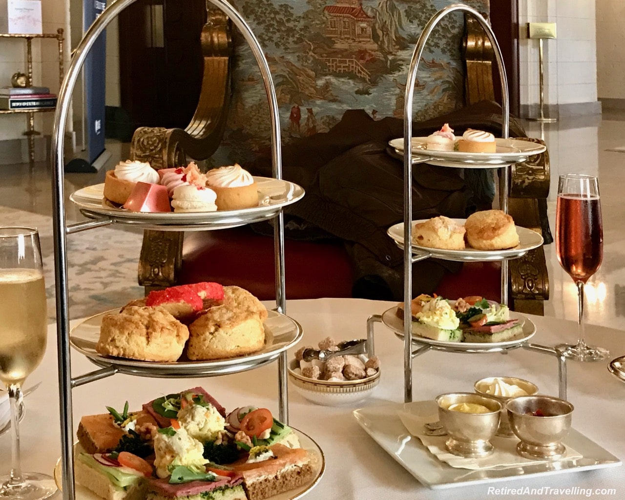 Afternoon Tea Sweet and Savoury - Afternoon Tea and Champagne at St Regis Washington.jpg
