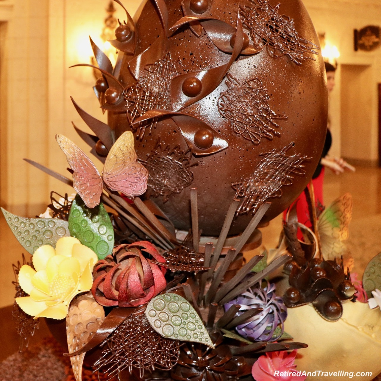 St Regis Lobby Easter Chocolate - Afternoon Tea and Champagne at St Regis Washington.jpg