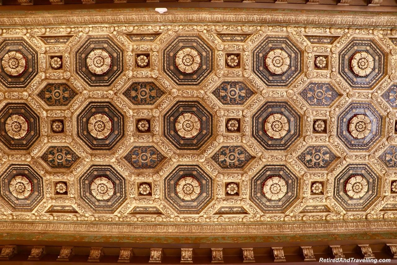 St Regis Lobby Ceiling - Afternoon Tea and Champagne at St Regis Washington.jpg