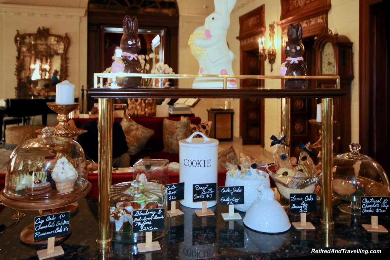 St Regis Lobby Sweet Treats - Afternoon Tea and Champagne at St Regis Washington.jpg