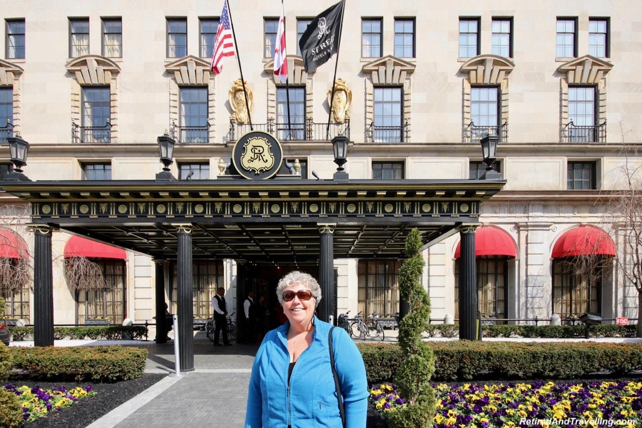 St Regis Outside - Afternoon Tea and Champagne at St Regis Washington.jpg