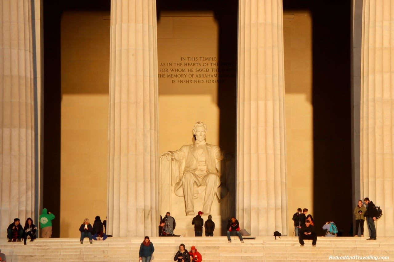 Lincoln Memorial - Get Up For Sunrise