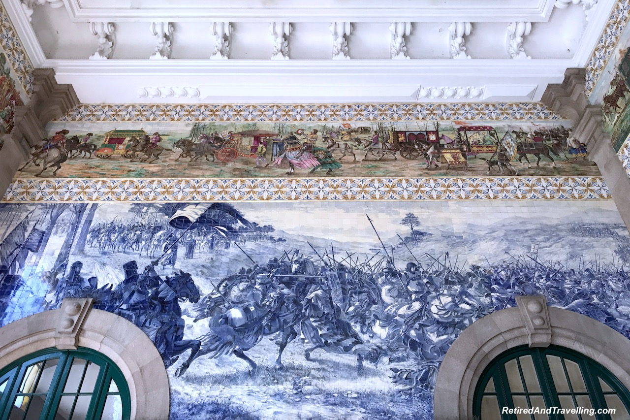 Train Station Blue Tile Art Porto - Reasons To Visit Portugal.jpg