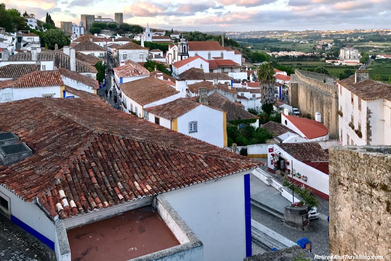Walk the Walls Obidos - Reasons To Visit Portugal.jpg