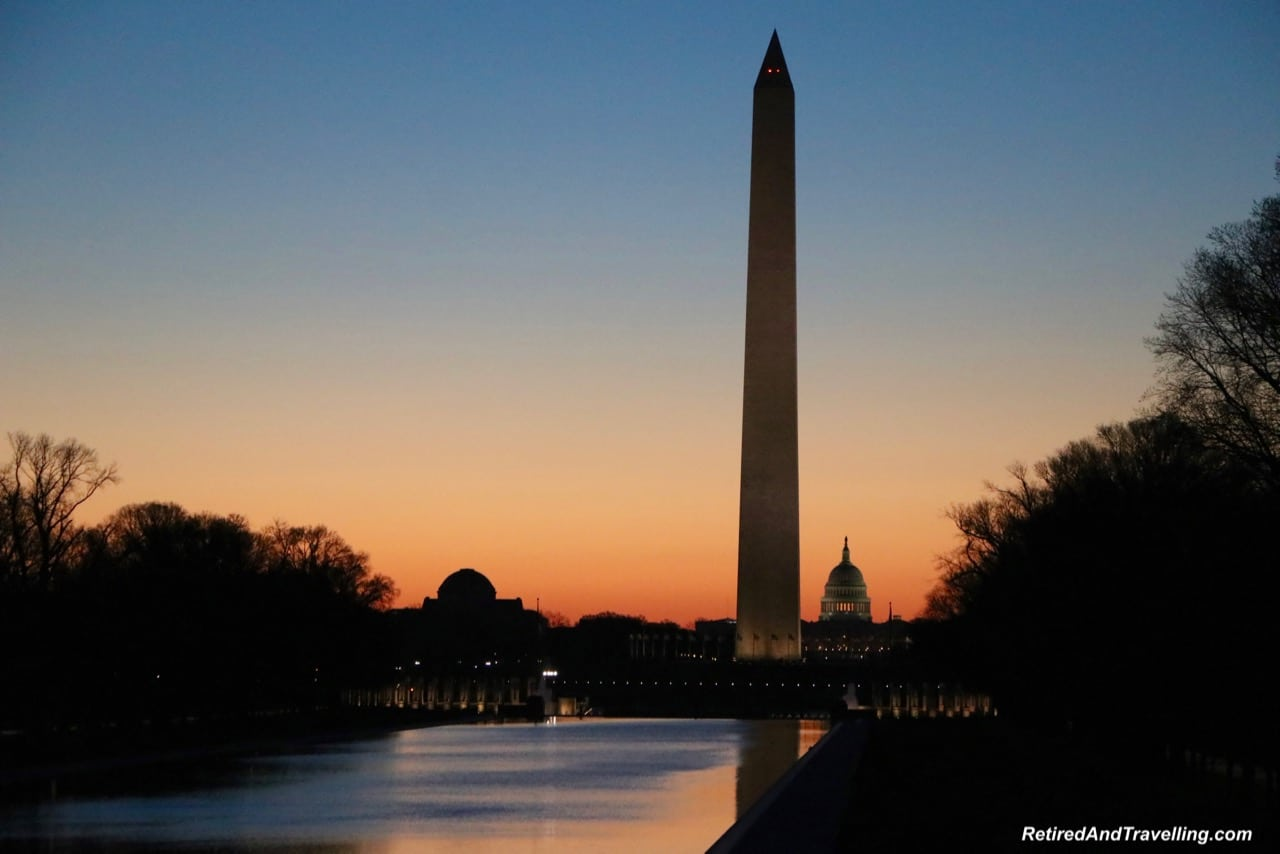 Washington Monument Sunrise - Experience Cherry Blossoms In Washington DC.jpg