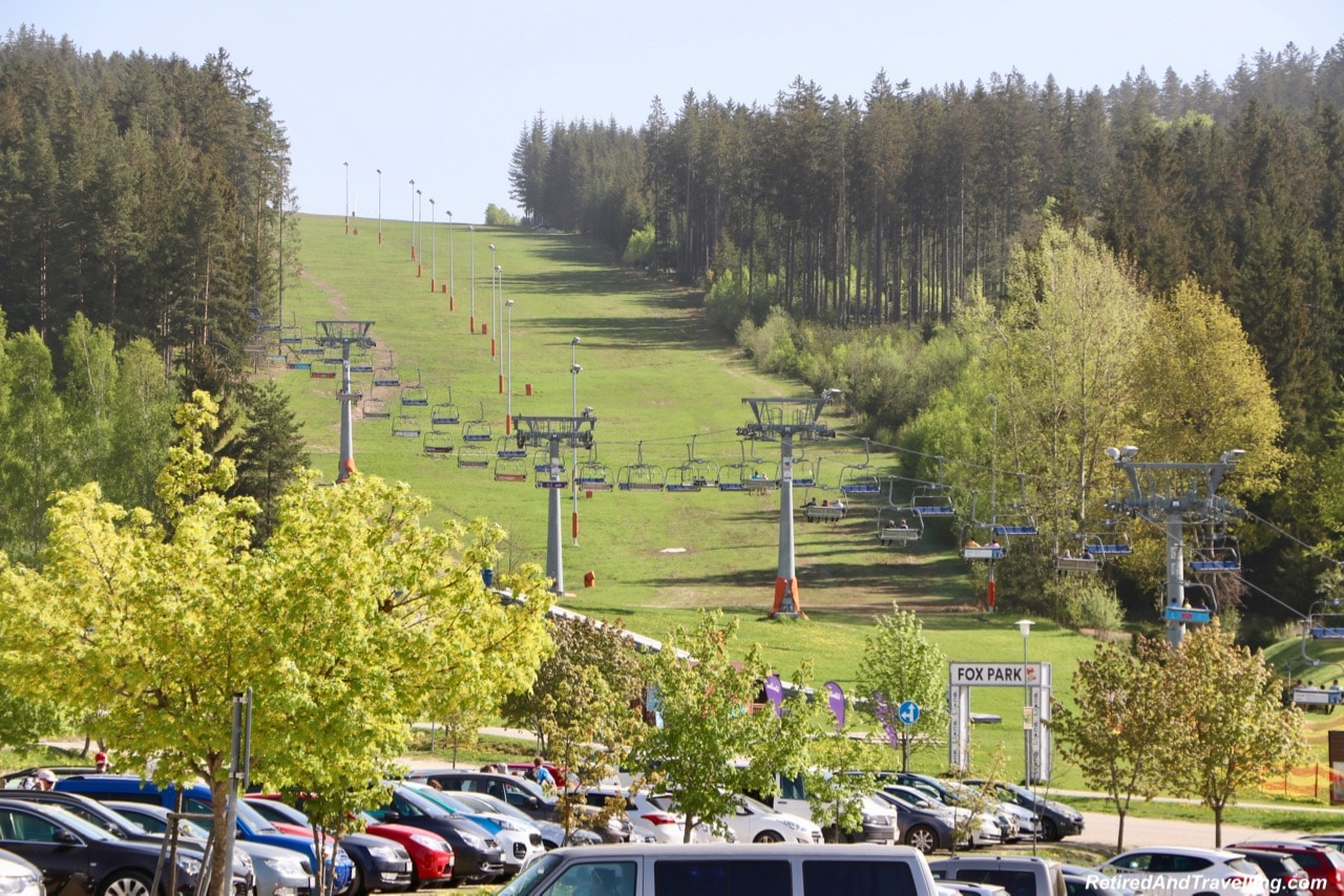 Lipno Chair Lift - Czech Countryside From The Lipno Treetop Walk.jpg