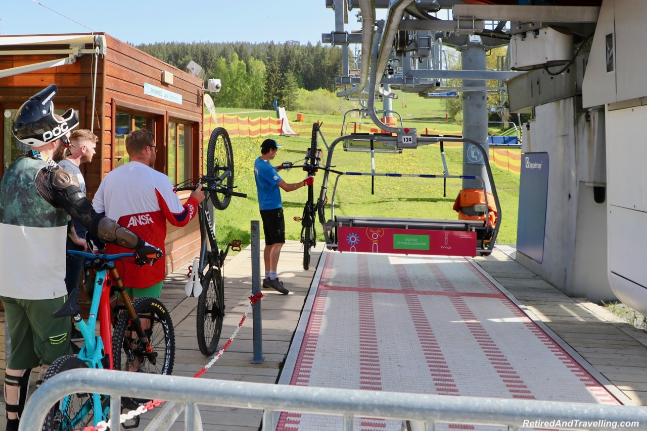 Lipno Chair Lift Mountain Bikes - Czech Countryside From The Lipno Treetop Walk.jpg
