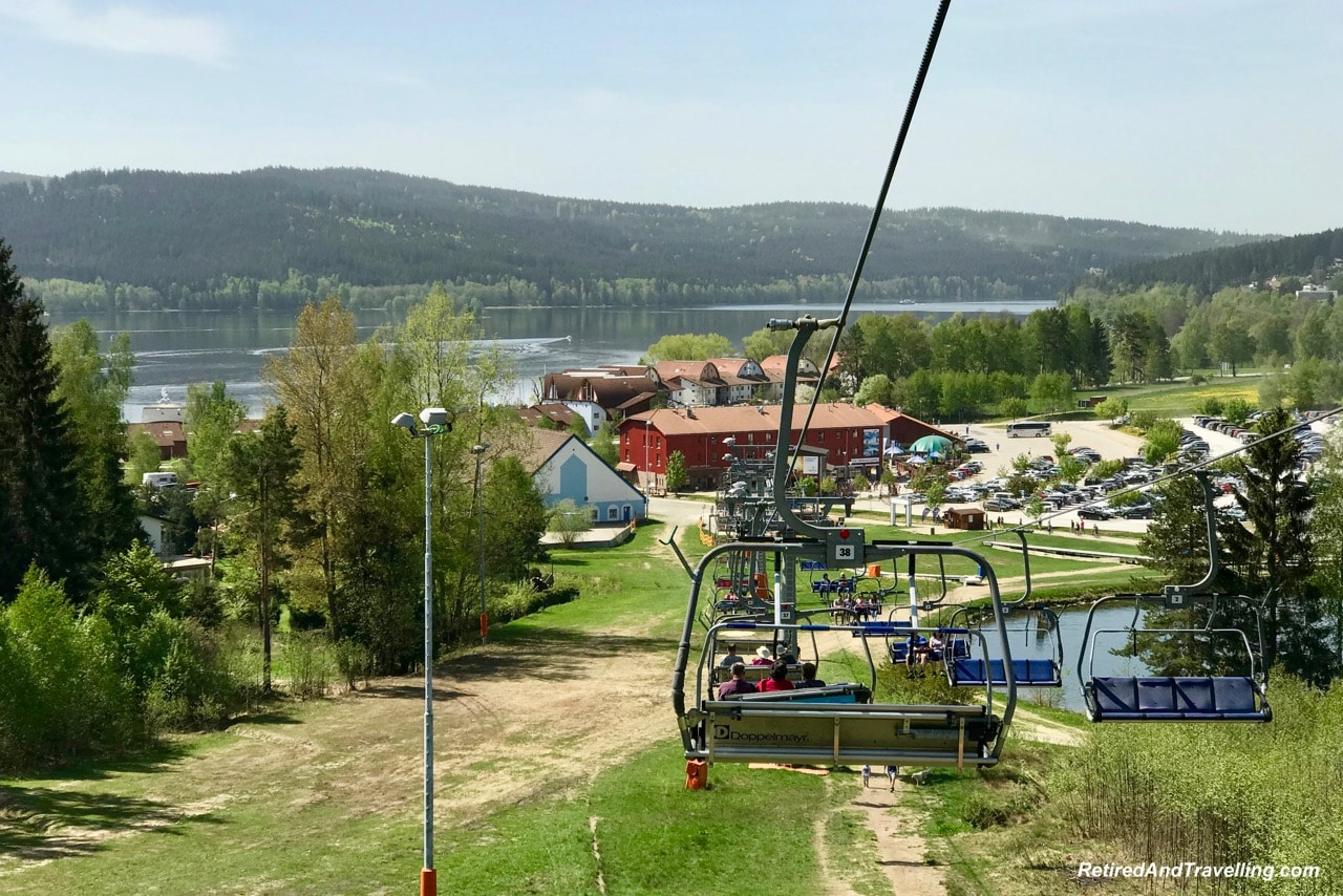 Lipno Chair Lift Views - Czech Countryside From The Lipno Treetop Walk.jpg