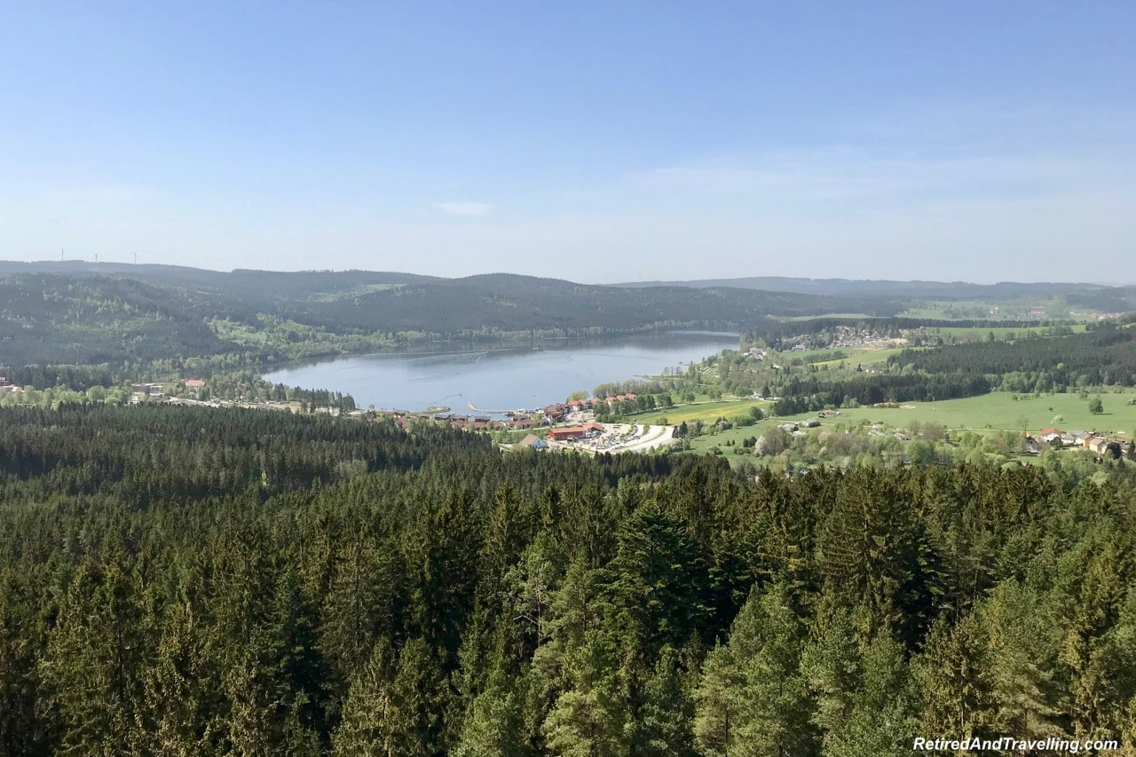 Lipno Tower Views - Czech Countryside From The Lipno Treetop Walk.jpg
