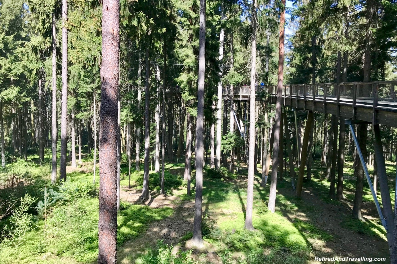 Lipno Treetop Walk Path - Czech Countryside From The Lipno Treetop Walk.jpg