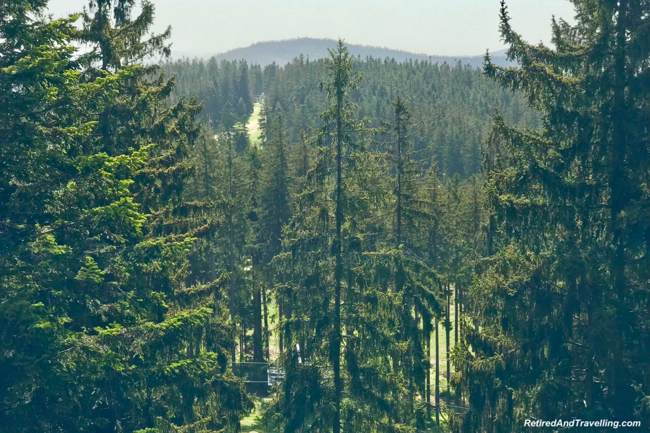 Lipno Treetop Walk Views - Czech Countryside From The Lipno Treetop Walk.jpg