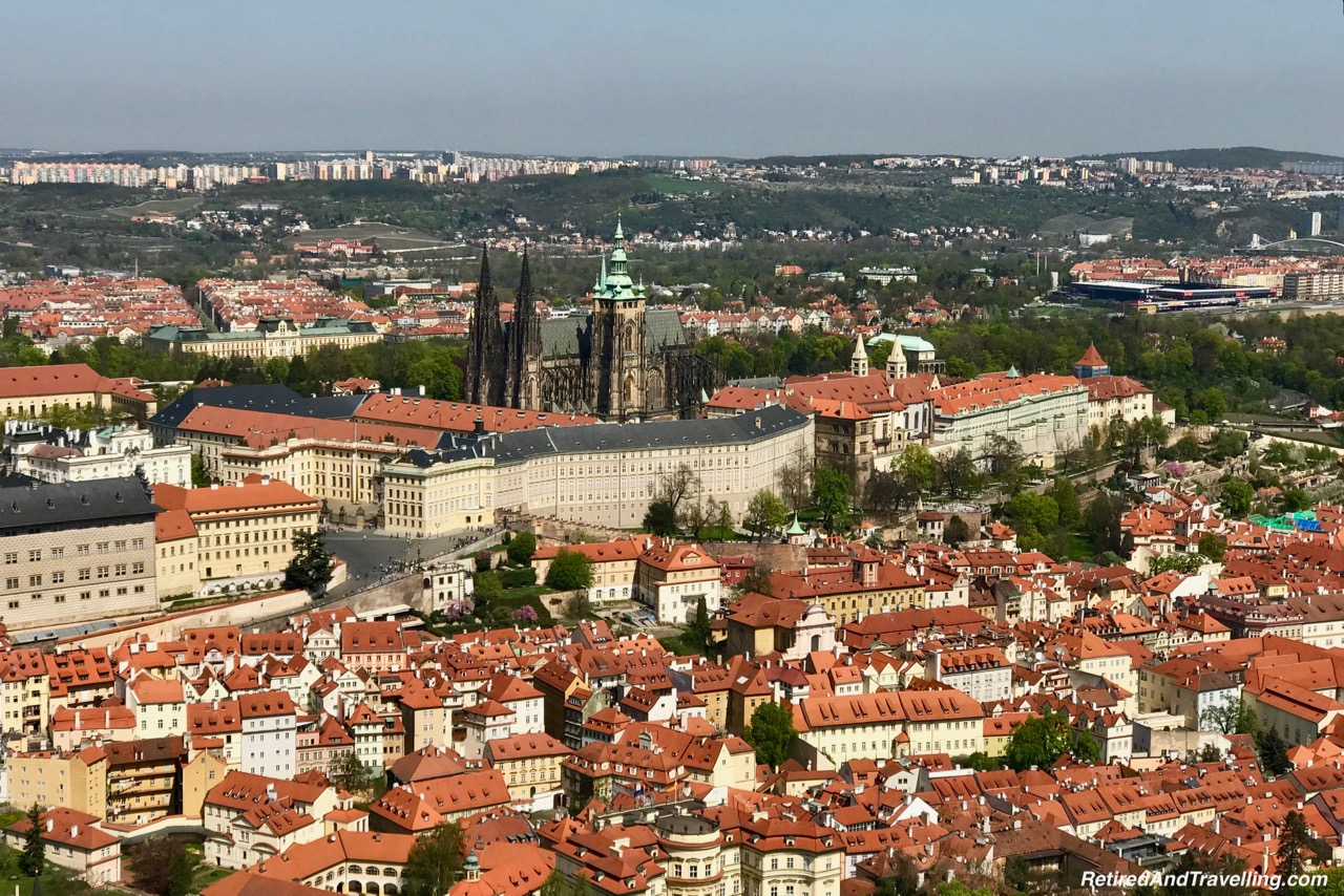 Prague Castle View From The Petrin Tower In Prague.jpg