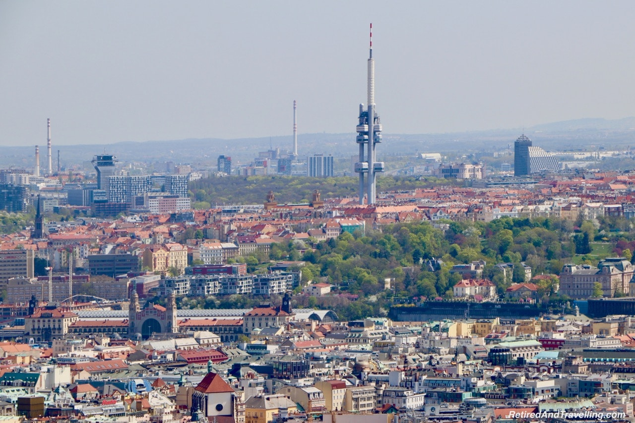 New Tower View From The Petrin Tower In Prague.jpg