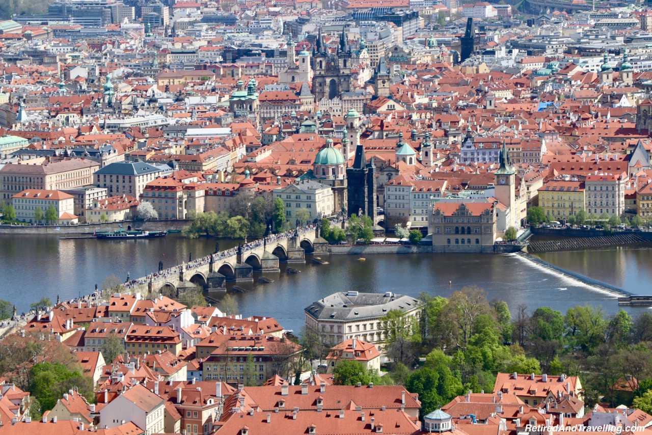 Charles Bridge View From The Petrin Tower In Prague.jpg