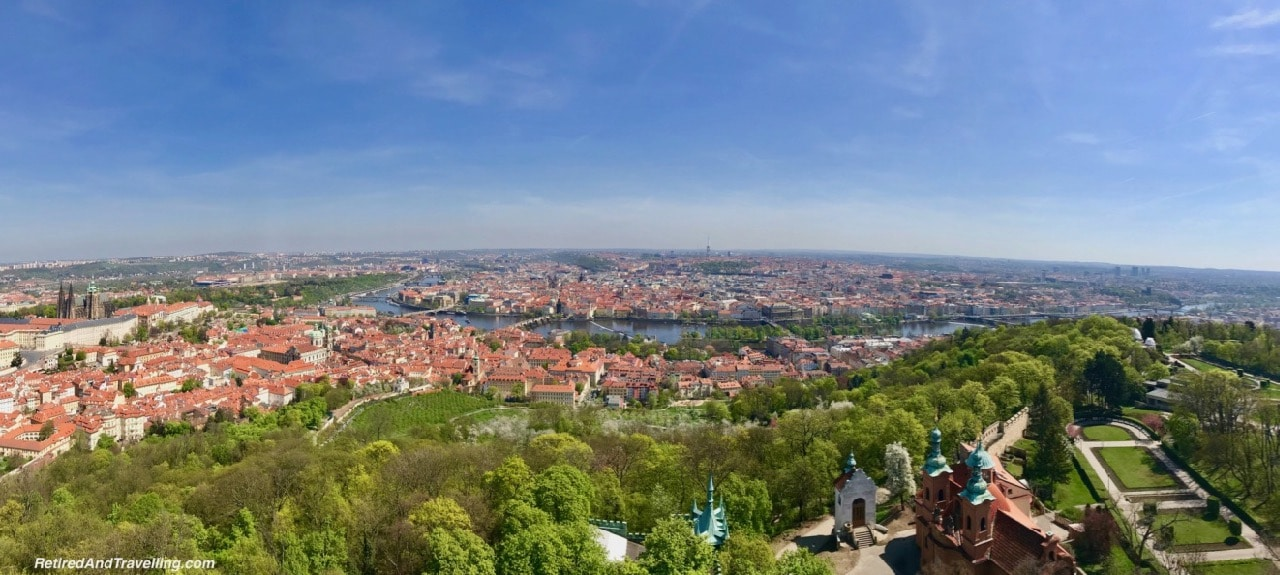 Panoramic View From The Petrin Tower In Prague.jpg