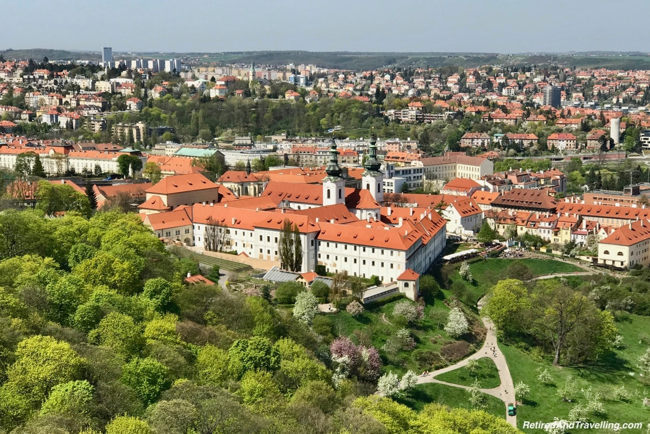 Strahov Monastery View From The Petrin Tower In Prague.jpg