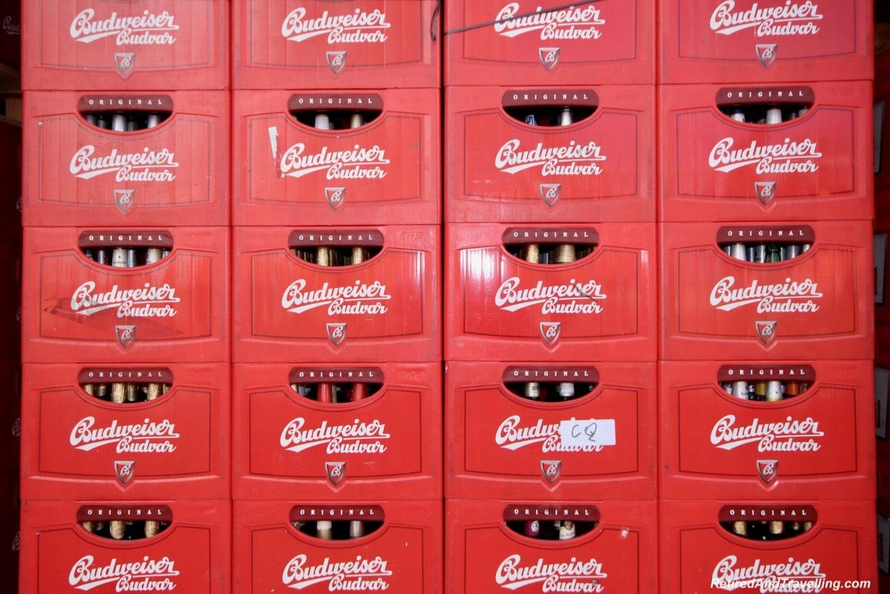 Budvar Beer Bottles - Original Budvar Budweiser Brewery.jpg