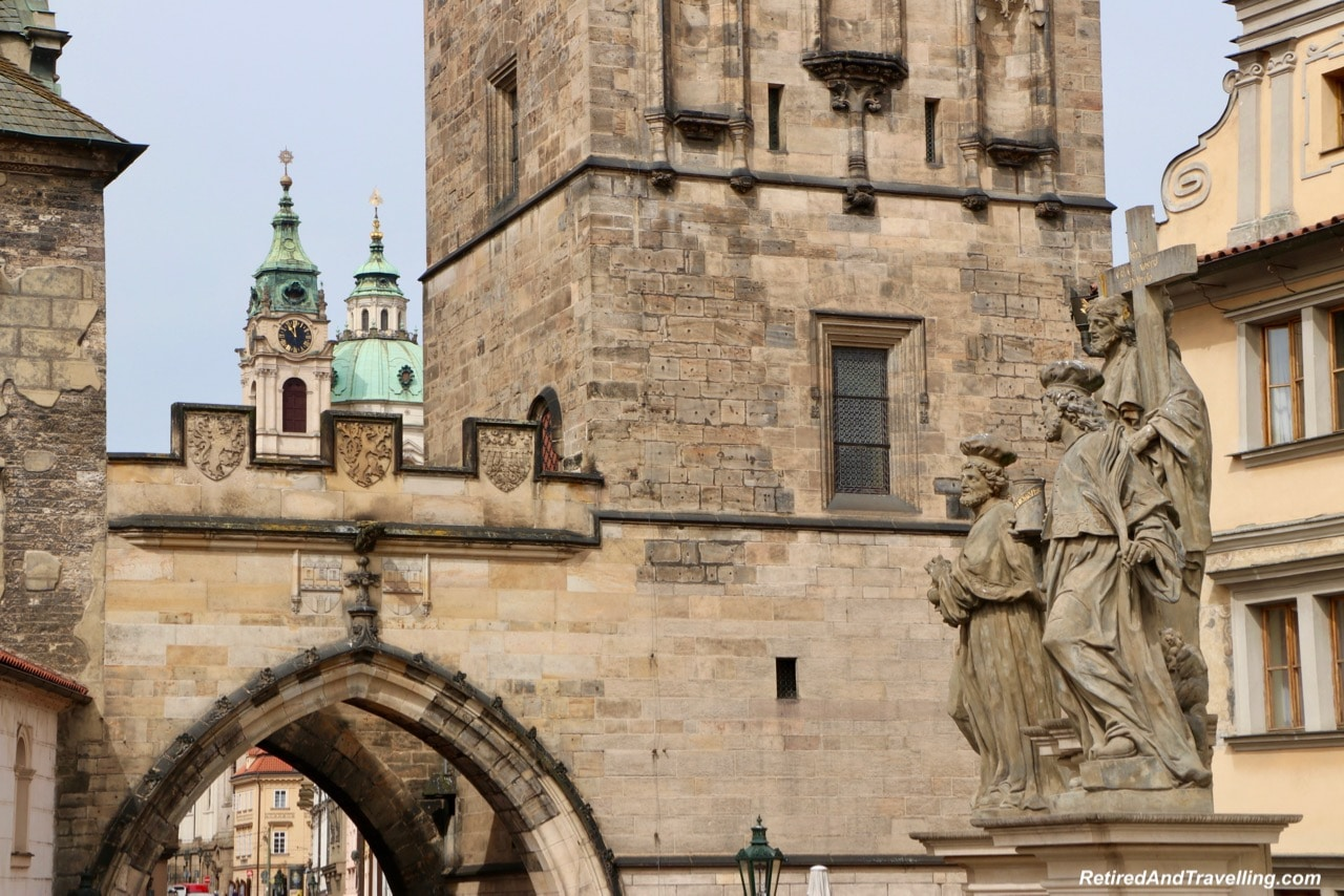Lesser Town Tower - Walk The Charles Bridge In Prague.jpg