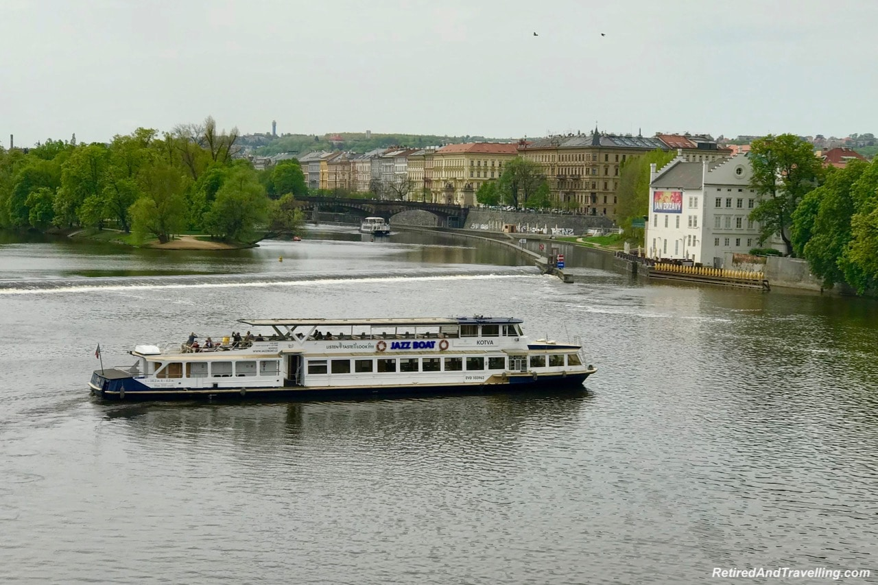 Bridge Views River Cruise Boats and Locks - Walk The Charles Bridge In Prague.jpg