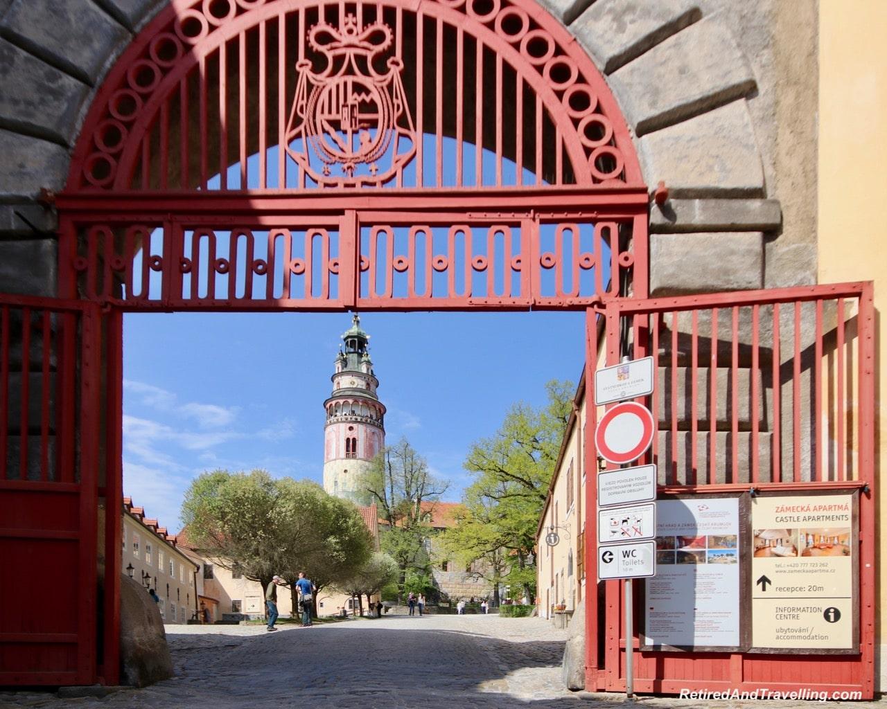 Cesky Krumlov Castle - Medieval Town Of Cesky Krumlov.jpg