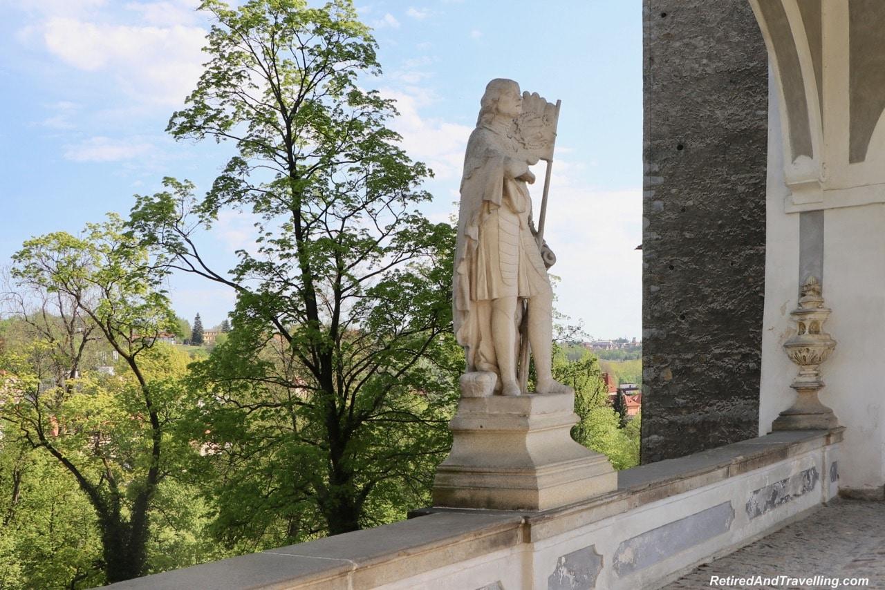 Cesky Krumlov Castle Statues - Medieval Town Of Cesky Krumlov.jpg