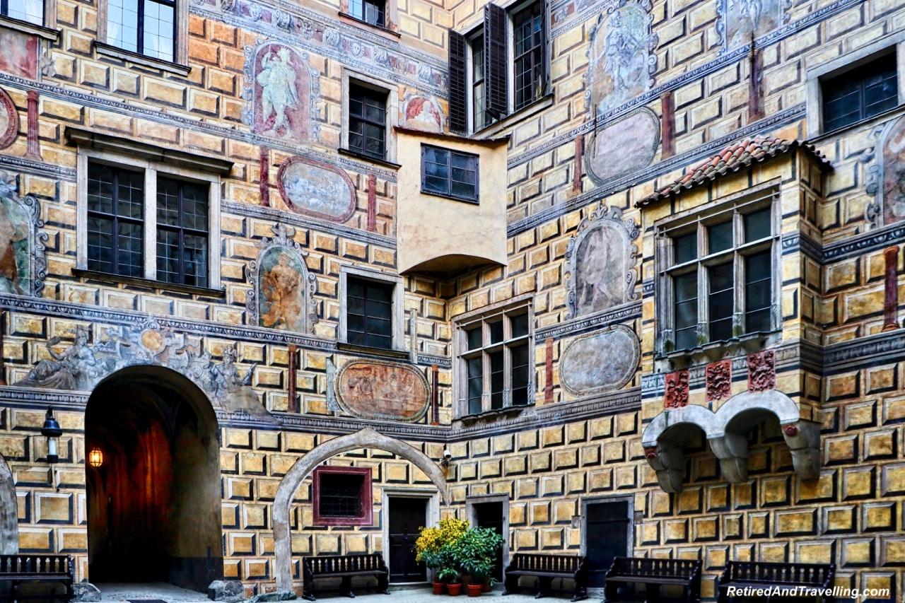 Cesky Krumlov Castle Bullding Art - Medieval Town Of Cesky Krumlov.jpg
