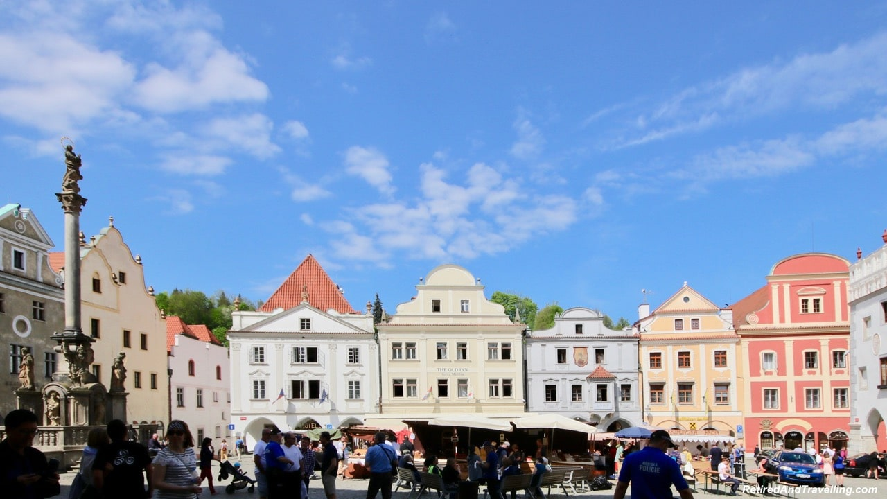 Main Square Eat and Drink - Medieval Town Of Cesky Krumlov.jpg