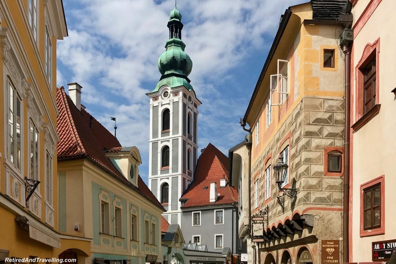 Cesky Krumlov Streets - Medieval Town Of Cesky Krumlov.jpg