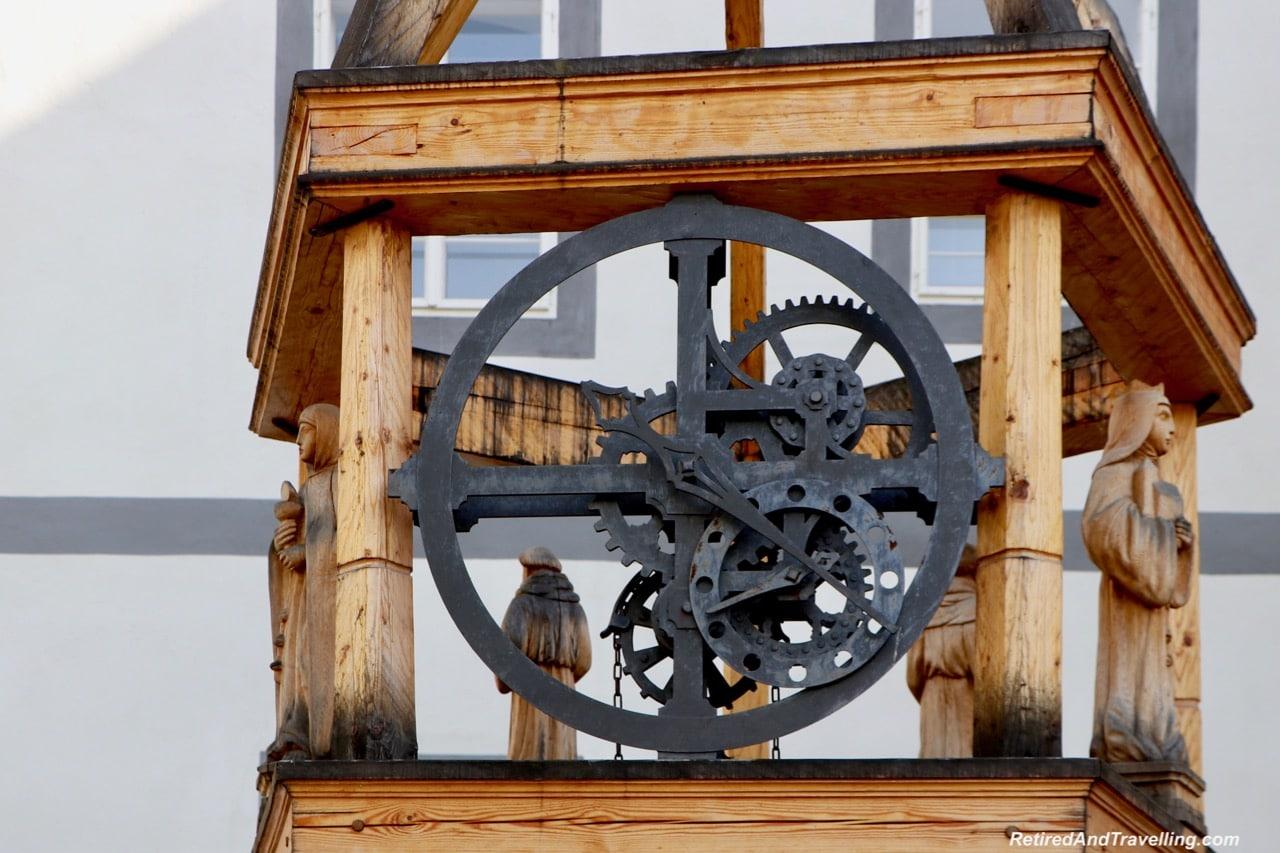 Cesky Krumlov Clocks - Medieval Town Of Cesky Krumlov.jpg