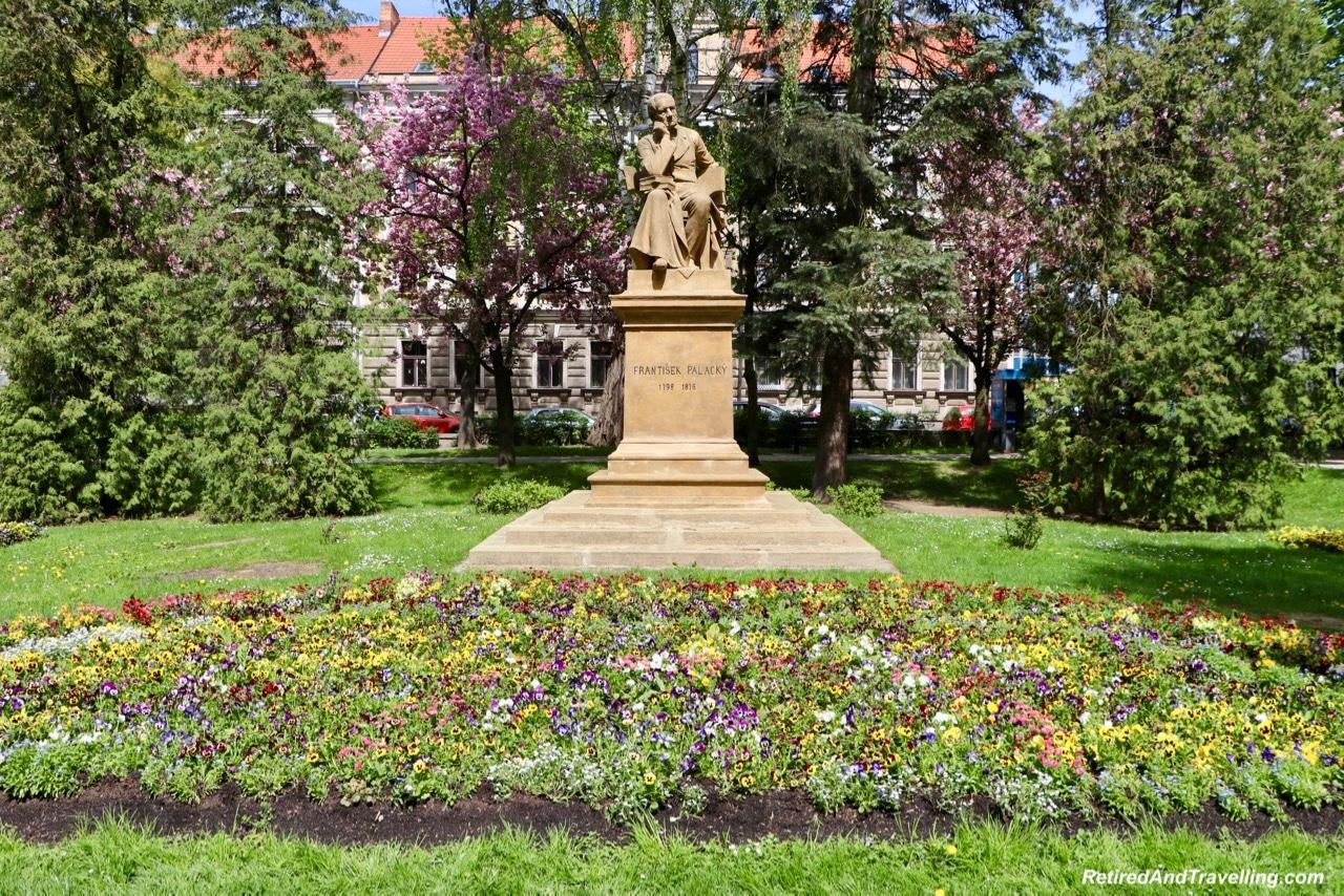 Frantisek Palacky Statue Pisek Town - Visit Pisek In Czech Republic.jpg