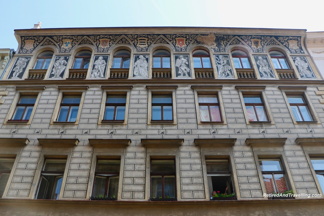 Sgrafito Prague Building - Buildings And Architecture Of Prague.jpg