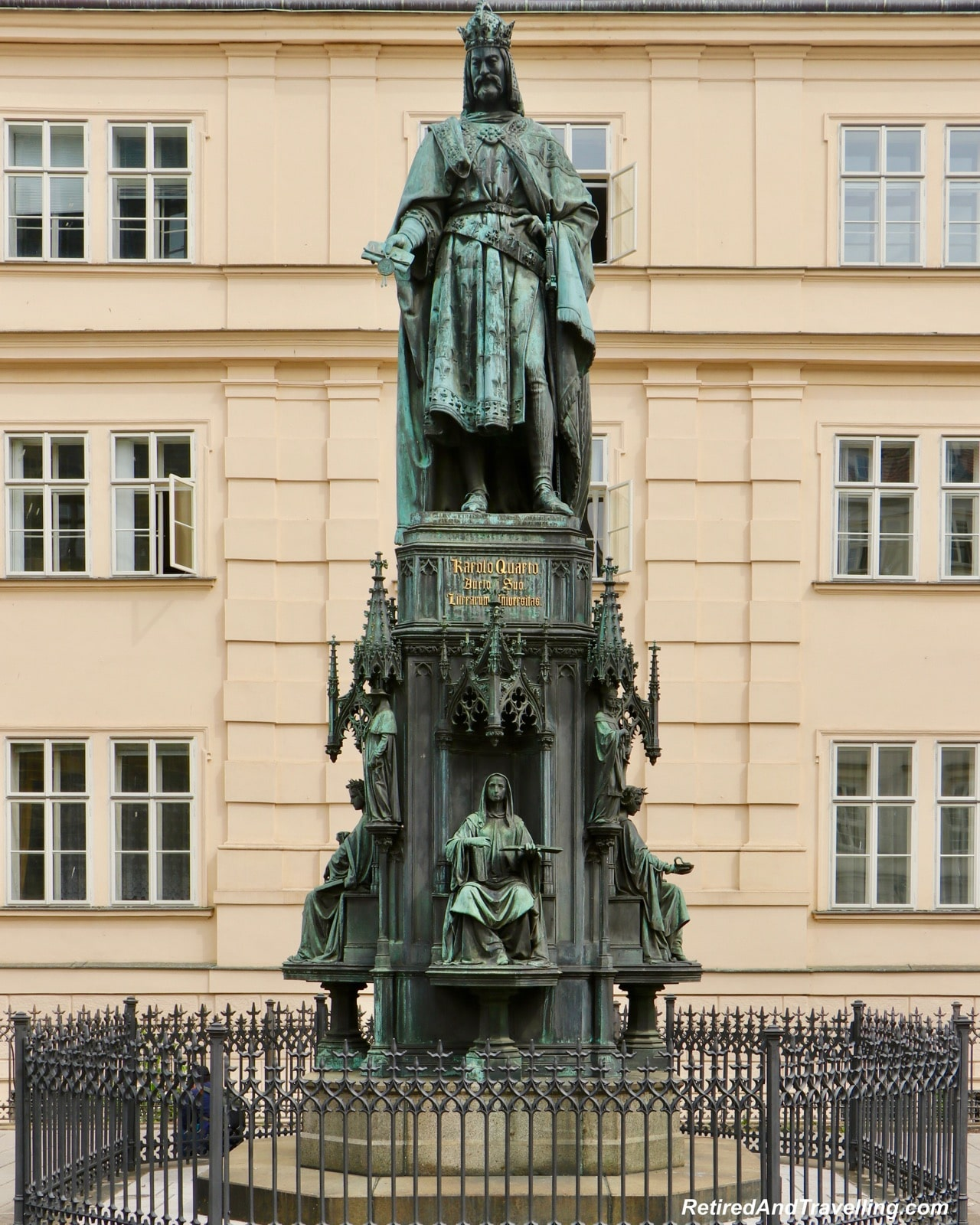 King Charles Statue - Walk The Charles Bridge In Prague.jpg