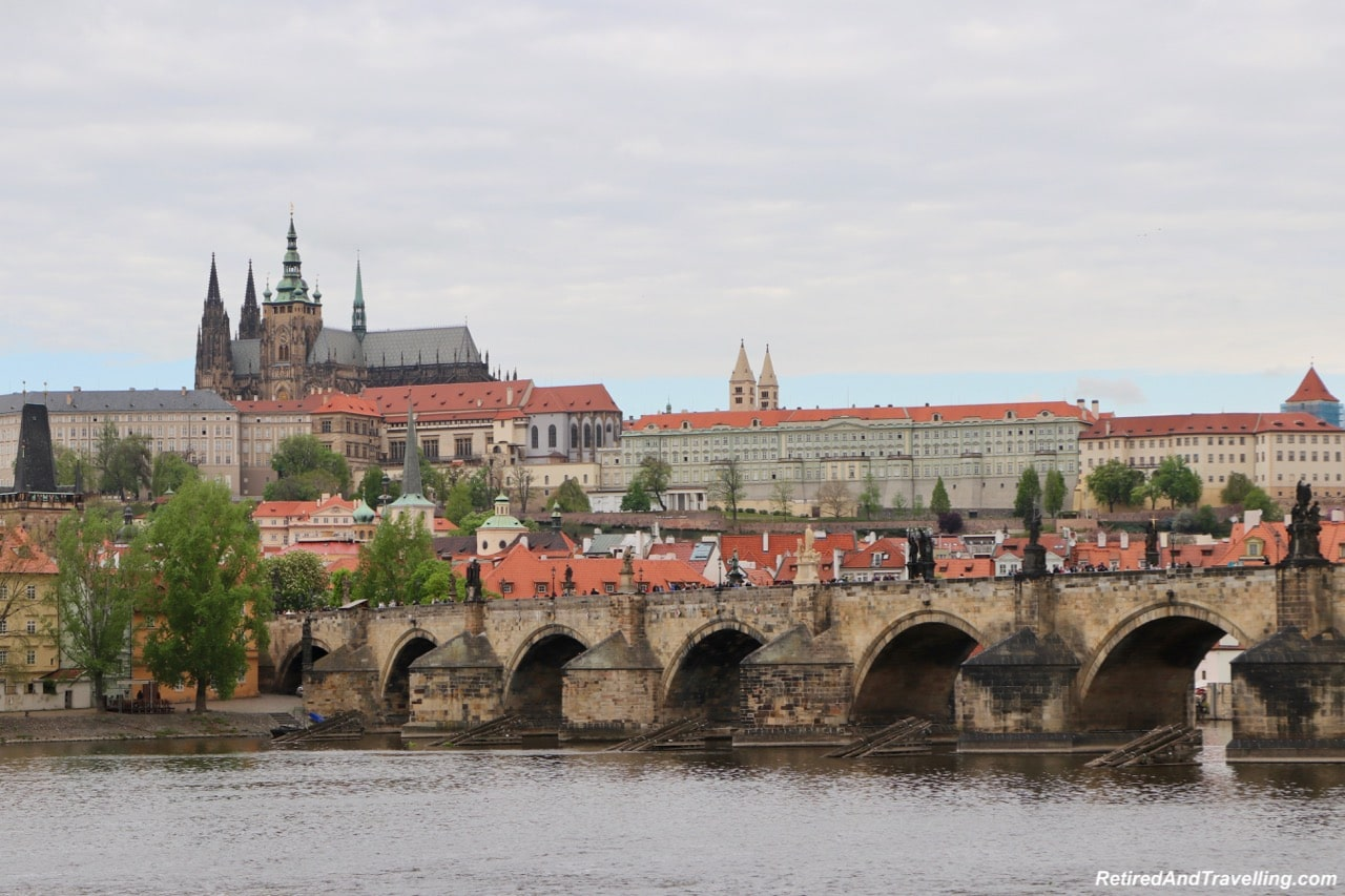 Prague Castle, St Vitrus and Charles Bridge - Prague Venice Tours River Cruise Views - Cruise the Vltava River in Prague.jpg
