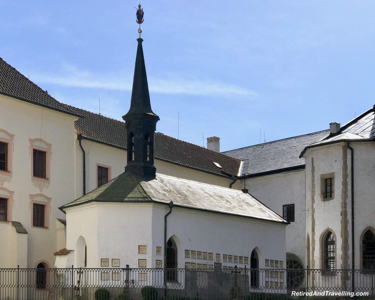 Rozmberk Vyssi Brod Cistercian Abbey Church - Churches And Castles In The Czech Republic.jpg